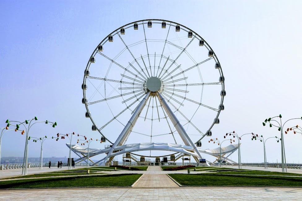 Baku, Baku Boulevard, Baku Eye