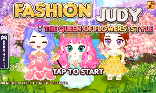 Fashion Judy: Queen of Flowers