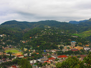 Photo: VIew of Kandy from the top of Big Buddha