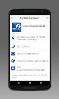 Screenshot of Heise RegioConcept