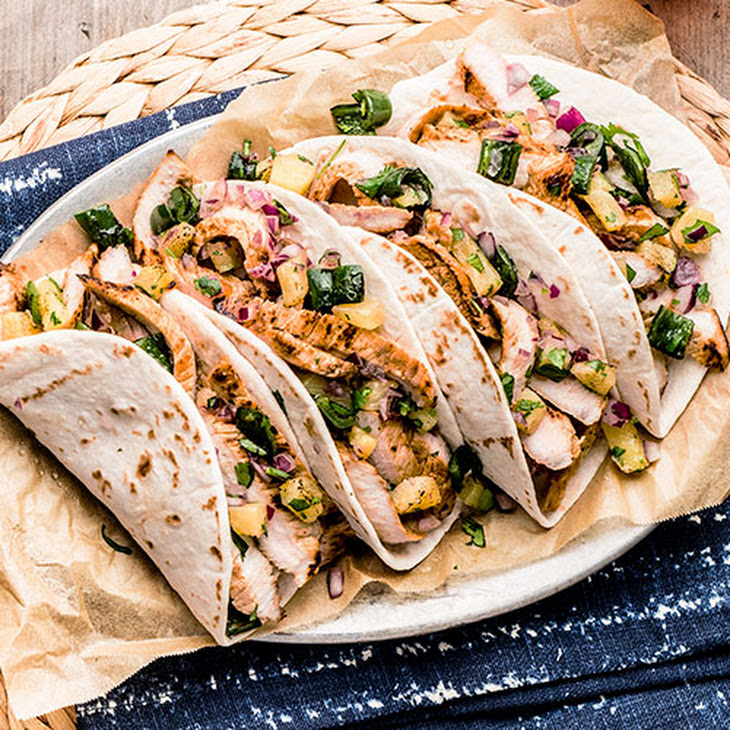 Sweet and Savory Pork Tacos