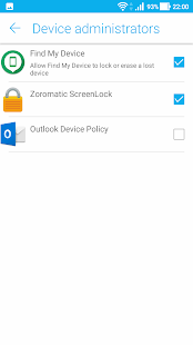 Zoromatic ScreenLock - náhled