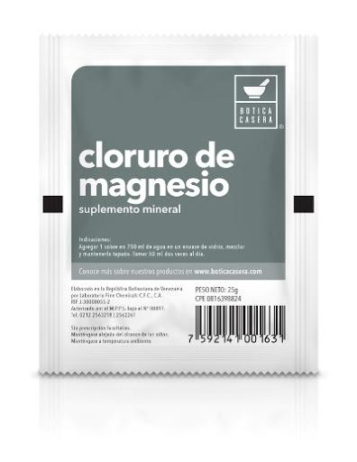 Cloruro de Magnesio 25g Fine Chemicals