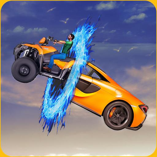 Grand Ramp Bike, Car & Plane Racing Transformers