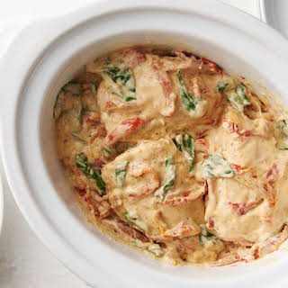 Slow-Cooker Creamy Tuscan Chicken.