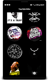 Trap Stickers Photo Editor Trap Quotes - náhled
