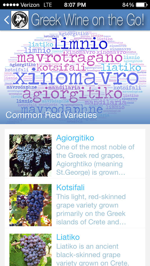 Greek Wine on the Go!- screenshot