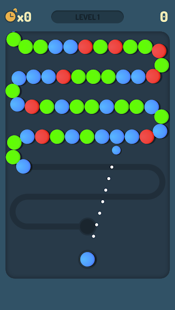 Ball Shoot! Android App Screenshot
