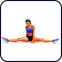 Stretching: how to sit on the splits in 30 days icon