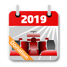 Racing Calendar 2019 DONATION icon