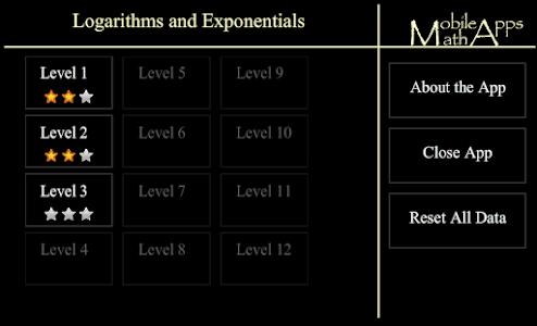 Logarithm/Exponential Tutor screenshot 0