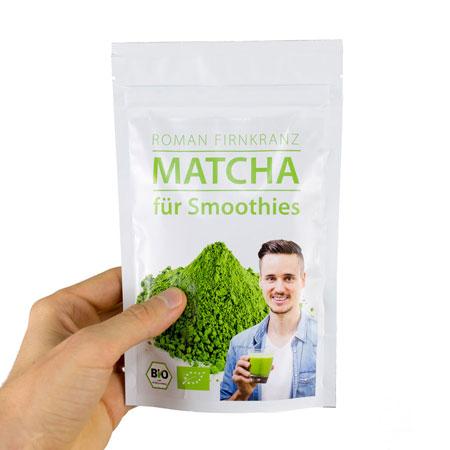 Roman Firnkranz Bio Matcha für Smoothies