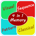 Memory Game For Adults. Icon