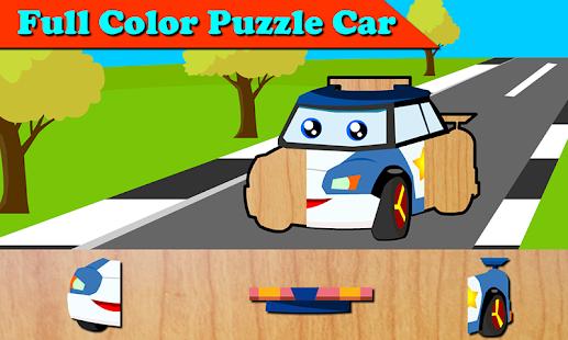 RobotCar Kids Puzzle - náhled