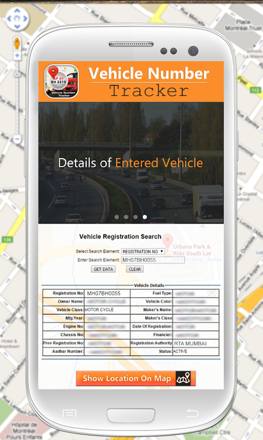 Vehicle Number Tracker - Android Apps on Google Play