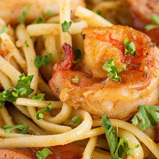 1. One-Pot Cajun Shrimp & Sausage Pasta