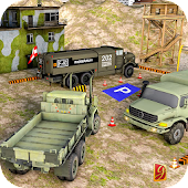 Army Truck Driving Parking Simulator