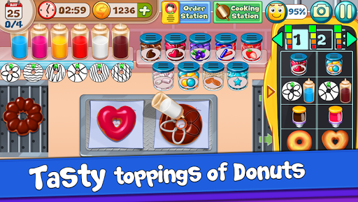 Donut Truck - Cafe Kitchen Cooking Games filehippodl screenshot 5