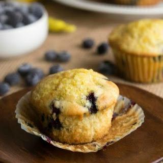 Blueberry Lemon Ricotta Muffins