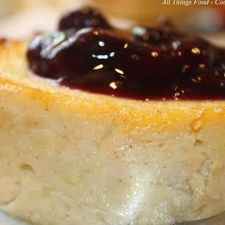 Mini-Ricotta Cheesecakes.