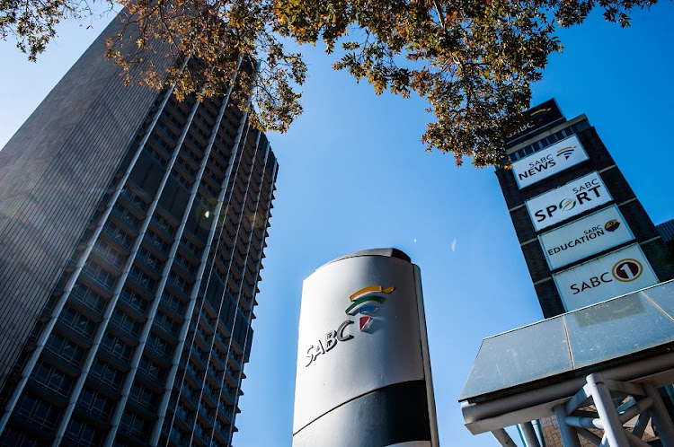 The SABC office in Auckland Park, Johannesburg.  Picture: SUNDAY TIMES