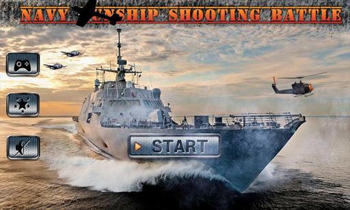 Navy Gunship Shooting Battle