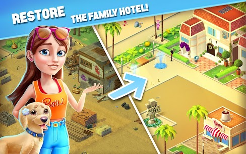 Resort Hotel: Bay Story MOD Apk (Unlimited Money/Keys/Lives) 9