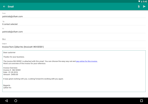 Accounting App - Zoho Books 5.18.9 screenshots 10