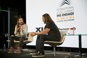 Photo: Discussing the future of music with the one and only Chad Hurley at IMS Engage in Los Angeles!