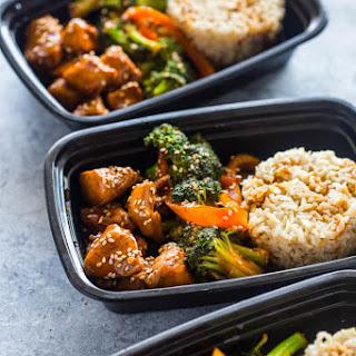 Meal Prep - Teriyaki Chicken and Broccoli.