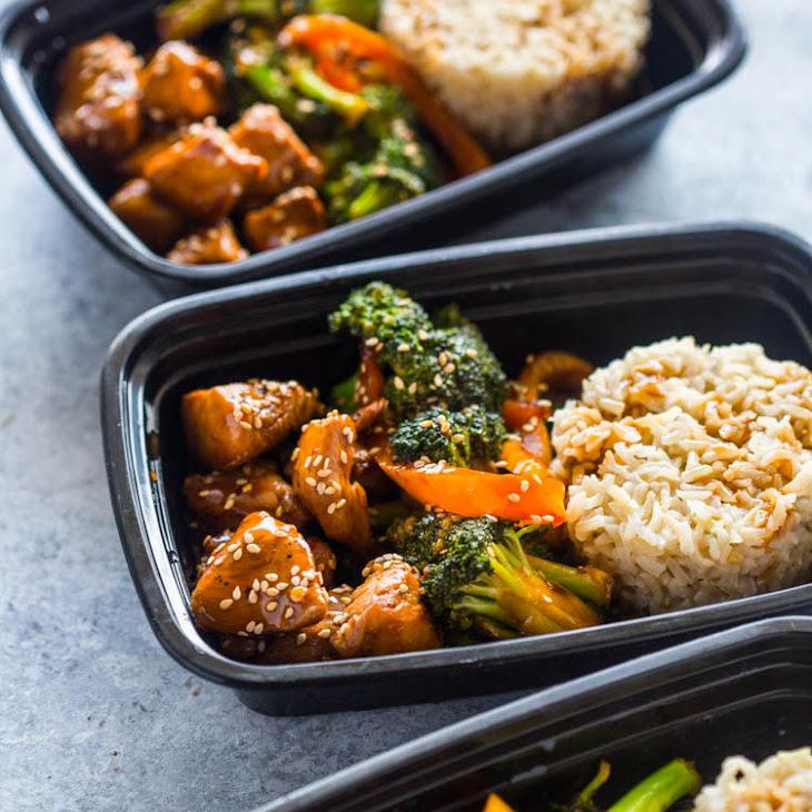 Meal Prep - Teriyaki Chicken and Broccoli Recipe
