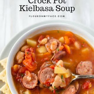 Crock Pot Kielbasa Soup.