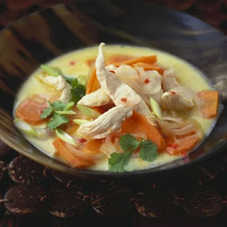 Creamy Chicken and Carrot Soup