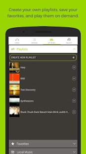 Earbits Music Discovery App- screenshot thumbnail