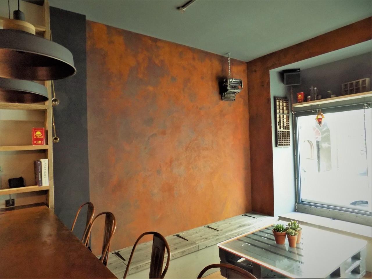 Sơn gỉ sét - Nghệ thuật sơn tường dẫn đầu xu hướng