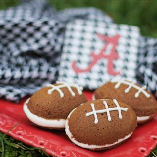 Roll Tide- Football whoopie pies