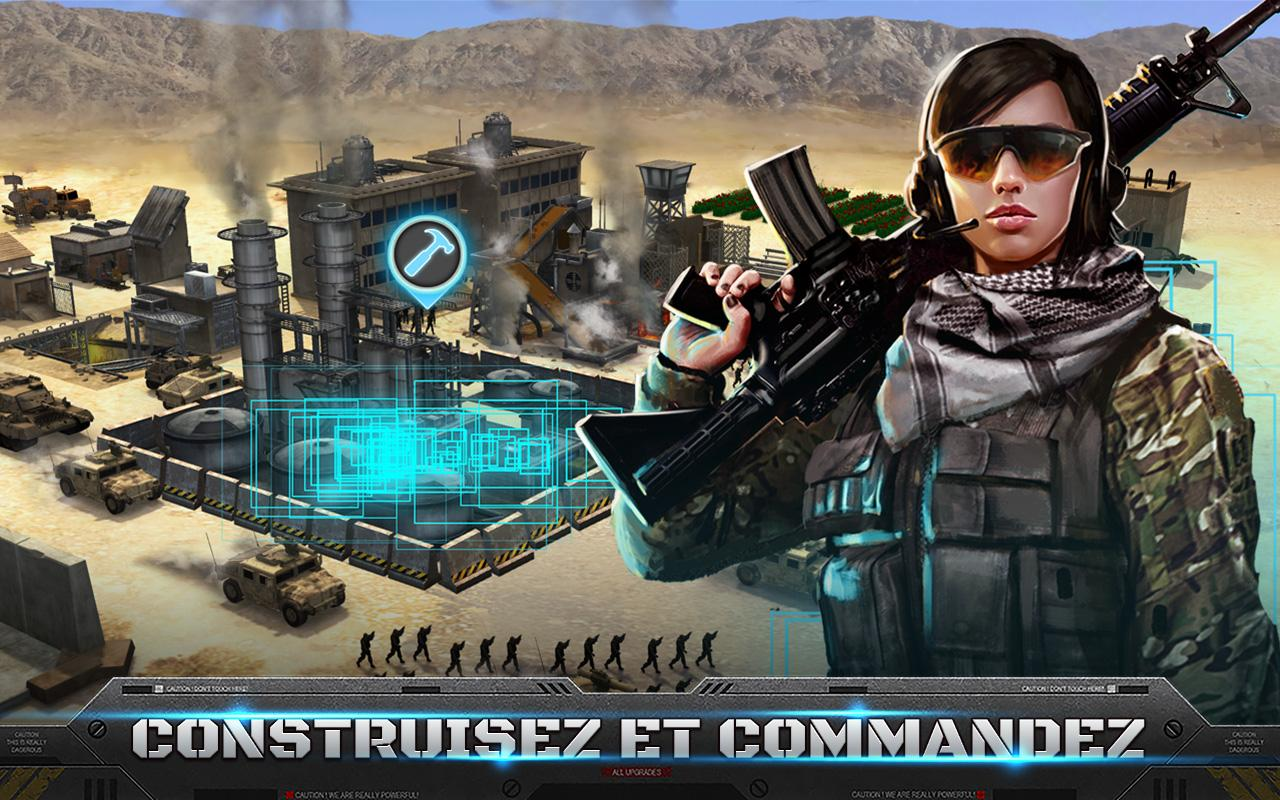 Mobile Strike – Capture d'écran