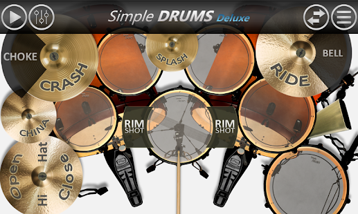 Simple Drums Deluxe screenshot