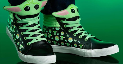 The Ultimate Baby Yoda Sneakers Are Now Available In Adult and Kid's Sizes