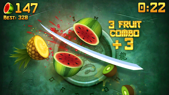 Fruit Ninja Mod Apk (Unlimited Scores + Money) 5