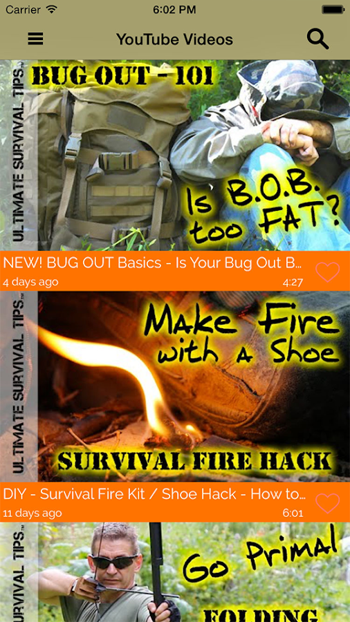 Ultimate Survival Tips- screenshot