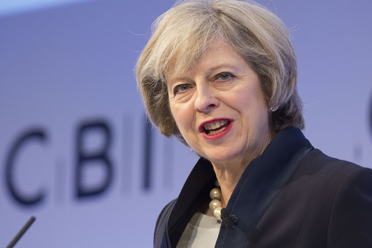 British Prime Minister Theresa May. Picture: BLOOMBERG/JASON ALDEN