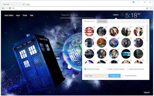 Doctor Who Wallpapers New Tab - freeaddon.com