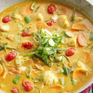 Fish And Vegetables Curry Recipes