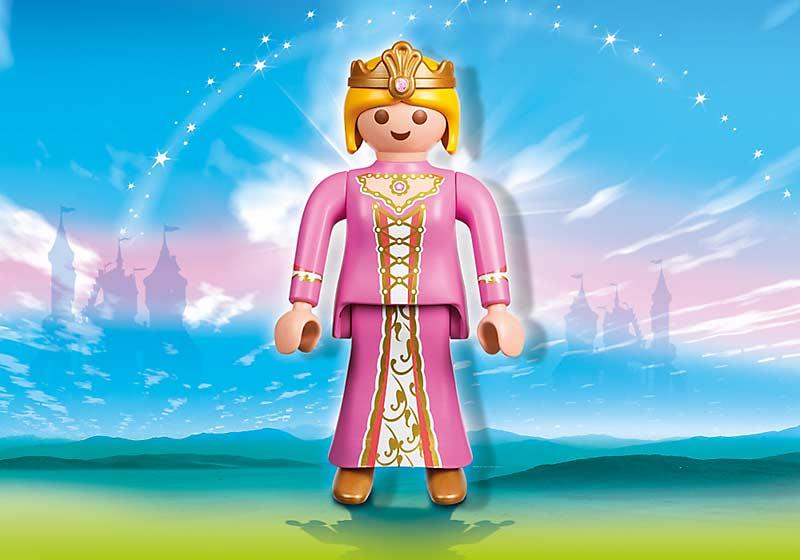 Contenido Real de Playmobil® 4896 Figura Princesa XXL