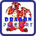 Dragon - Pixel Color By Number icon
