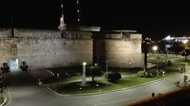 Photo: Civitavecchia by night