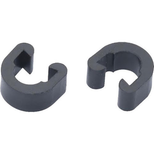 Alligator C-Clip Cable Guide, Black - Each