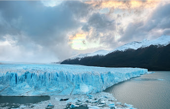 Photo: Deep into the Patagonia Glacier  This is the Perito Mereno Glacier, and this thing is over two miles wide. Unfortunately, everything is so huge in the photo that you can't get a sense of the scale. When you see huge chunks cleave off, it all happens in slow motion, just like the movies. And the sound is like an icy thunder.  From Trey Ratcliff at www.stuckincustoms.com