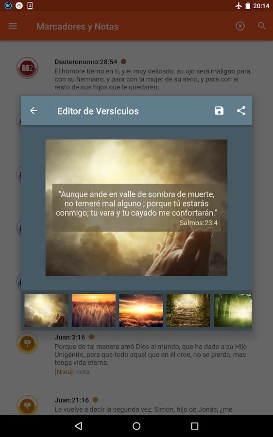 La Biblia Reina Valera- screenshot